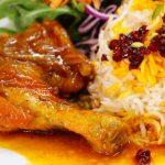 غذای آسان با زعفران
